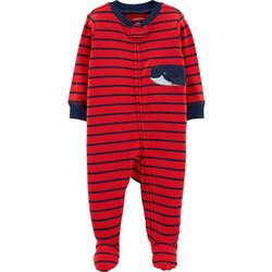 Carters Baby Boys Striped Whale Sleep & Play