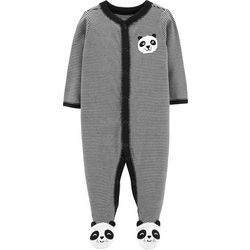 Carters Baby Boys Striped Panda Bear Sleep & Play