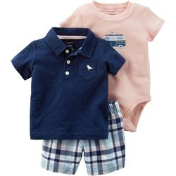 Carters Baby Boys 3-pc. Beach Bum Layette Set