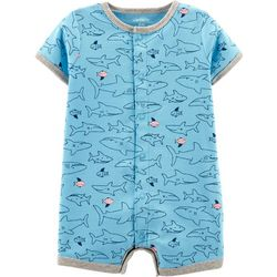 Carters Baby Boys Shark Romper