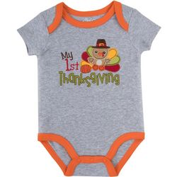 Baby Essentials Baby Boys My First Thanksgiving Bodysuit