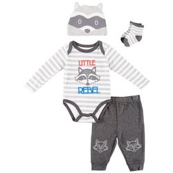 Weeplay Baby Boys 4-pc. Little Rebel Layette Set
