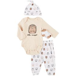 Vitamins Baby Baby Boys 4-pc. Little Nugget Layette Set