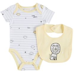 Sunshine Baby Baby Boys Embellished Lion 2-pc. Set