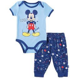 Disney Mickey Mouse Baby Boys Cool Bodysuit Set