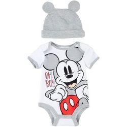 Disney Mickey Mouse Baby Boys 2-pc. Oh Boy Mickey Set