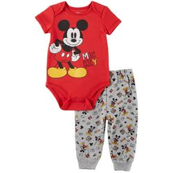 Disney Mickey Mouse Baby Boys Cool Mickey Pants Set