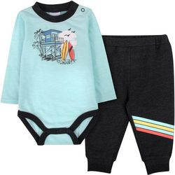 Sunshine Baby Baby Boys Surfer Jogger Pants Set