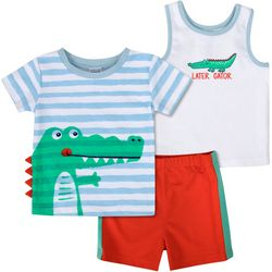 Sunshine Baby Baby Boys 3-pc. Gator Set