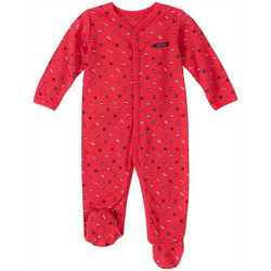 Nautica Baby Boys Geometric Print Snug Fit Footie Pajamas