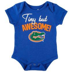 Florida Gators Baby Boys Tiny But Awesome Bodysuit
