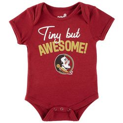 Florida State Baby Boys Tiny But Awesome Bodysuit