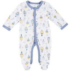Laura Ashley Baby Boys Hot Air Balloon Coverall