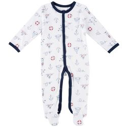 Laura Ashley Baby Boys Nautical Coverall