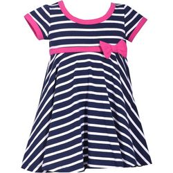 Bonnie Jean Baby Girls Wide Stripe Dress