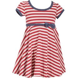 Bonnie Jean Toddler Girls Candy Stripe Dress