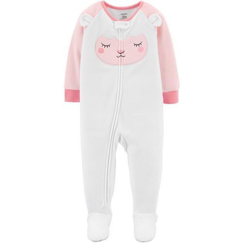 6b029bc28 Carters Baby Girls Lamb Fleece Sleep   Play