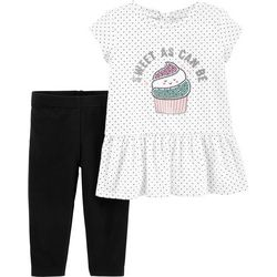 Carters Baby Girls Sweet As Can Be Peplum