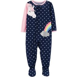 Carters Baby Girls Unicorn Snug Fit Footie Pajamas