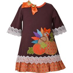 Bonnie Jean Baby Girls Thanksgiving Dress
