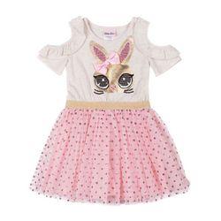 Little Lass Baby Girls Bunny Tulle Dress