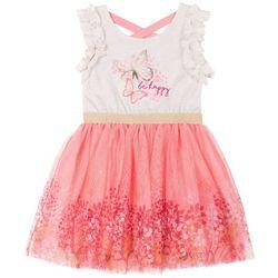 Little Lass Baby Girls Be Happy Dress