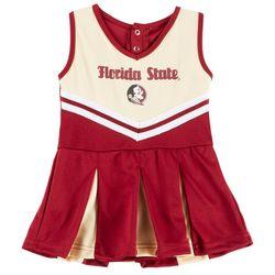 Florida State Baby Girls Peplum Cheer Dress by Colosseum