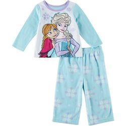 Disney Frozen Baby Girls 2-pc. Fleece Sleepwear Set