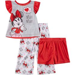 Disney Minnie Mouse Baby Girls 3-pc. Night Night
