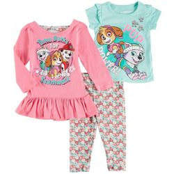 Nickelodeon Paw Patrol Baby Girls 3-pc. Pup Power Pants Set
