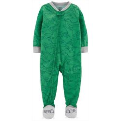 Carters Baby Boys Dino Feet Snug Fit Footie Pajamas