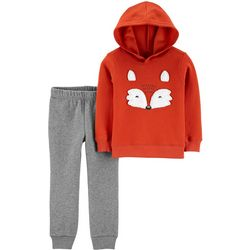 Carters Baby Boys Fox Hoodie & Jogger Pants Set