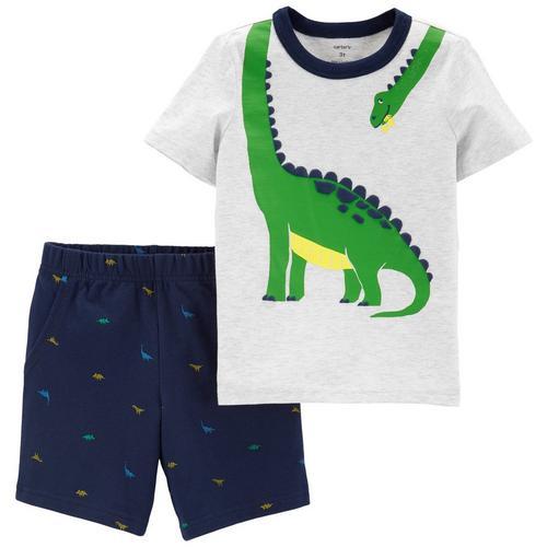 8c9b75403 Carters Baby Boys Dinosaur Shorts Set | Bealls Florida