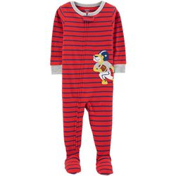 Carters Baby Boys Stripe Football Lion Sleep & Play