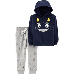 Carters Baby Boys Monster Hoodie Jogger Pants Set