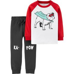 Carters Baby Boys Super Hero Dog Jogger Pants Set