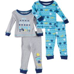 Boys Club Baby Boys 4-pc. Video Game Pajama Pants Set