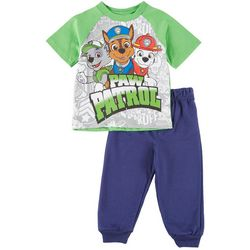 Nickelodeon Paw Patrol Baby Boys Team Jogger Pants Set