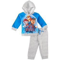 Nickelodeon Paw Patrol Baby Boys Mesh Sweatshirt Set