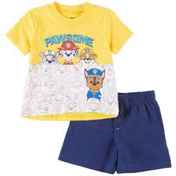 Nickelodeon Paw Patrol Baby Boys Pawsome Shorts Set