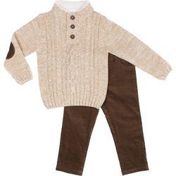 Little Lad Baby Boys 2-pc. Sweater Set