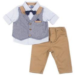 Boys Rock Toddler Boys Bow Tie Vest Pants Set
