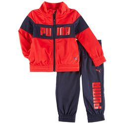 Puma Baby Boys Logo Track Jacket Pants Set