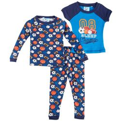 Quiltex Baby Boys 3-pc. Sleep Champ Pajama Set
