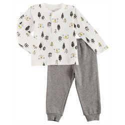 Sunshine Baby Baby Boys Bear Woods Pants Set
