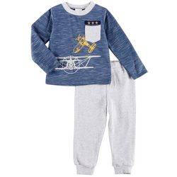 Sunshine Baby Baby Boys Bi-Plane Jogger Pants Set