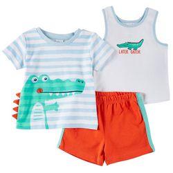 Sunshine Baby Baby Boys 3-pc. Gator Set