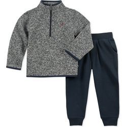 Nautica Baby Boys Fleece Jacket Jogger Pants Set
