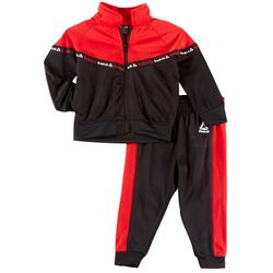 Reebok Baby Boys 2-pc. Colorblock Jacket Pants Set