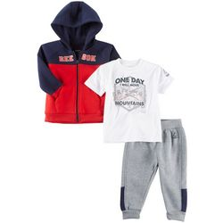 Reebok Baby Boys 3-pc. One Day I'll Move Mountains Pants Set